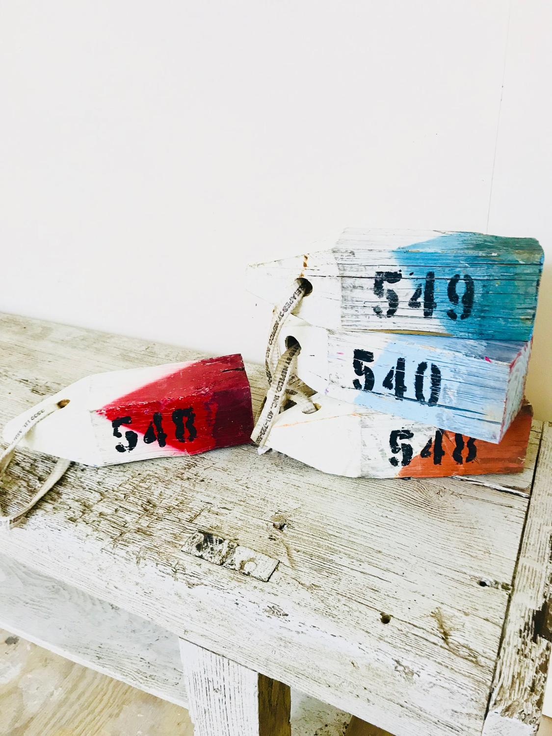 Lobster pot markers