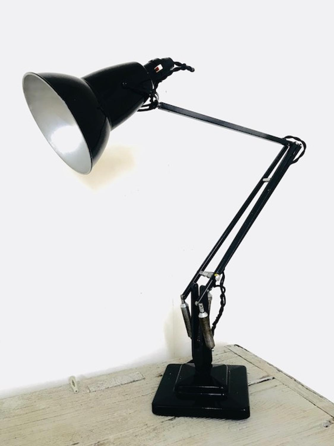 Vintage Herbert Terry Anglepoise Lamp (black) in Decorative & Furniture