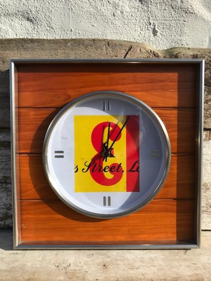 JB Whisky Advertising Clock