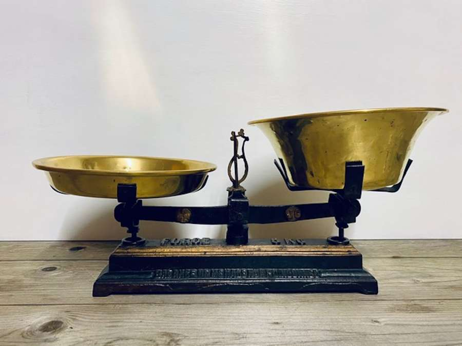 Antique French Scales