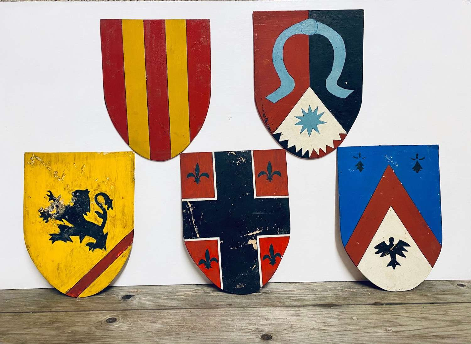 Vintage Dutch Scout Shields